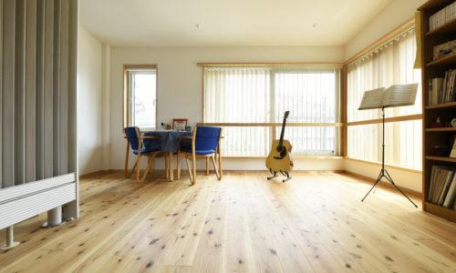音楽とともに暮らす家
