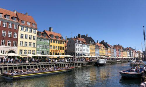 デンマーク、ニューハウン、建物、建築、カラフル